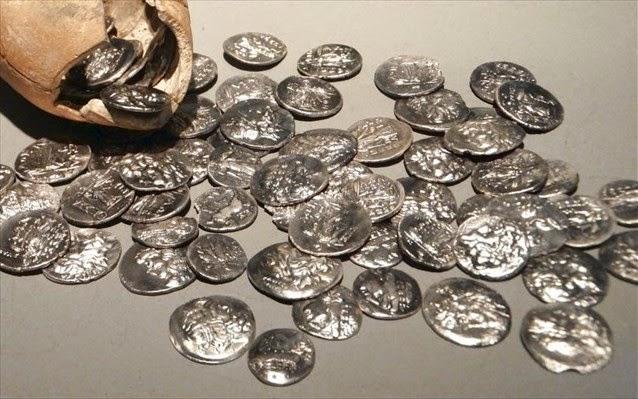 Σέρρες: Βρέθηκε αρχαίος τάφος με νομίσματα