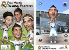 Real Madrid Talking Players juego de futbol para iPhone iPad iPod Touch