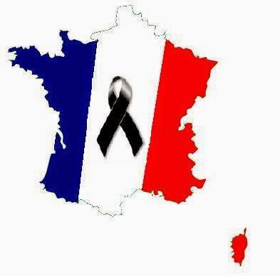 Luto por las  víctimas del atentado de París