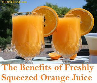 The Benefits of Freshly Squeezed Orange Juice