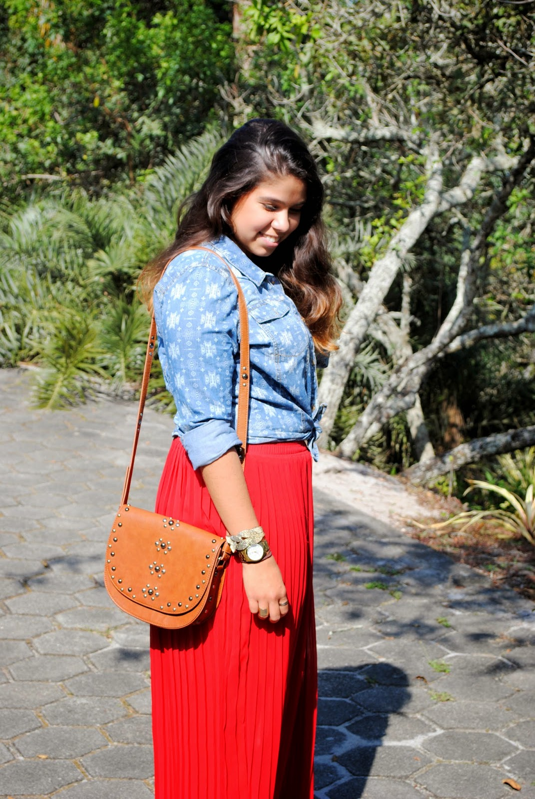 ootd_redskirt_forever21_letmecrossover_blog_fashion