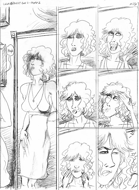 LULU Book 2 p 61 pencils by John Linton Roberson(c)21013