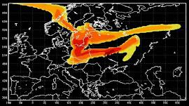 Το ραδιενεργό σύννεφο του Τσερνόμπιλ