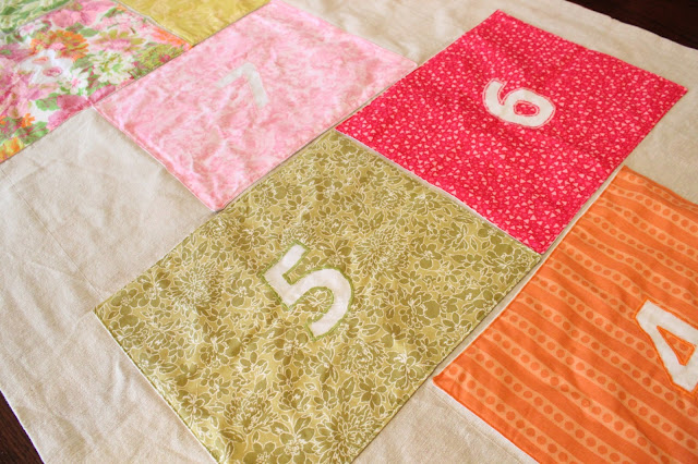Our Nesting Ground Hopscotch Mat Tutorial