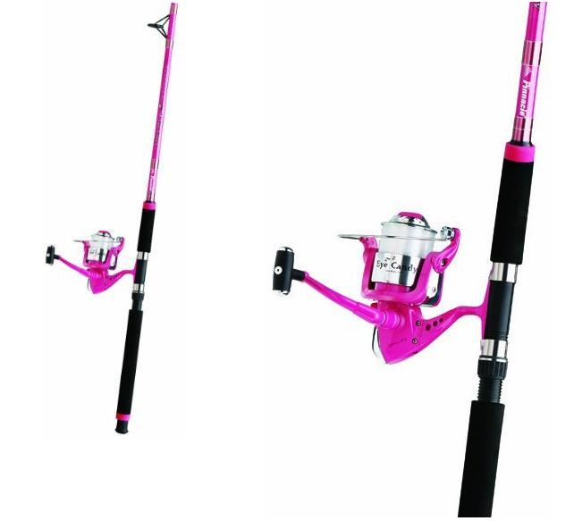 Pink caffeine for Pink fishing rods