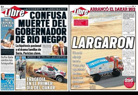 Tapa diario libre gobernador rio negro report show el for Diario el show del espectaculo