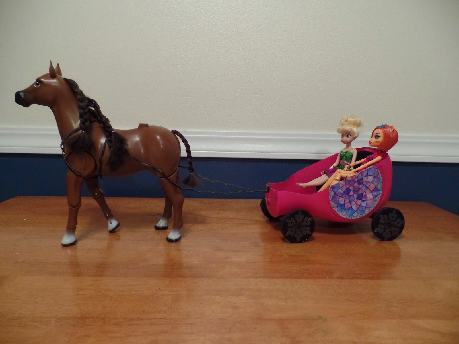 How To Make A Doll Horse Drawn Carriage