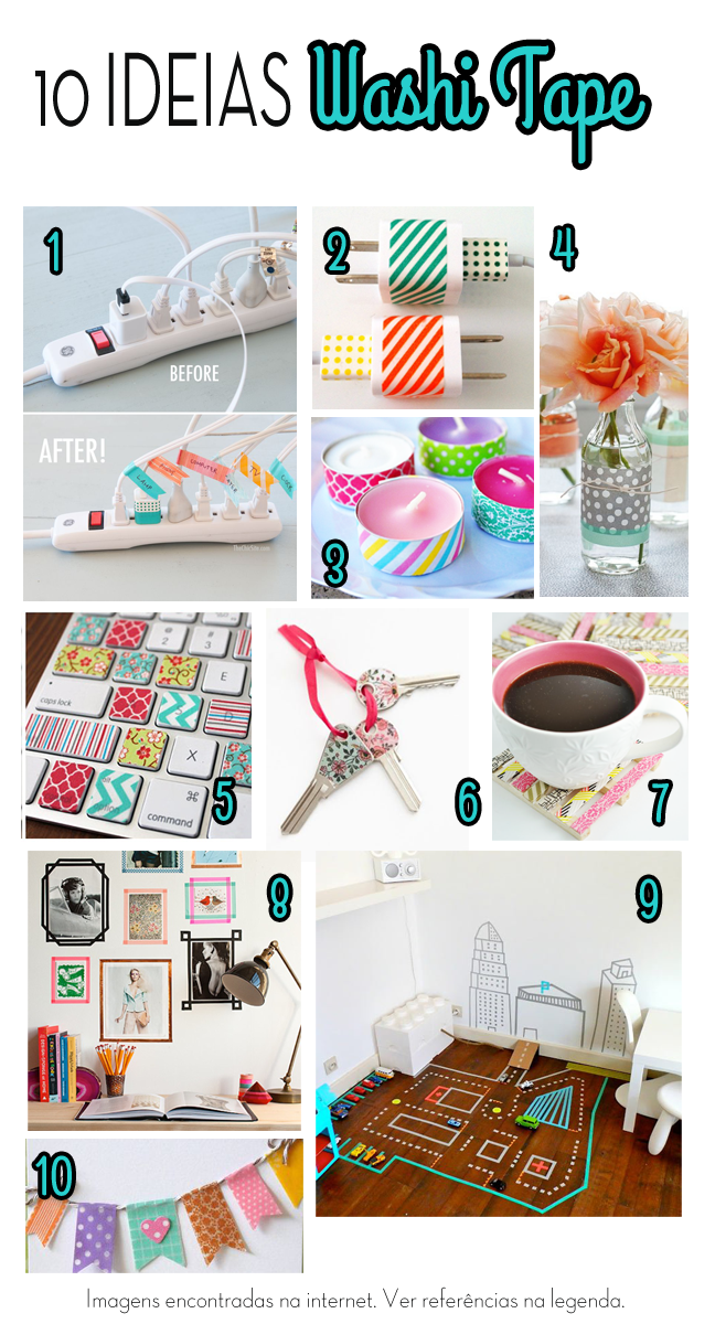 Top Ten Washi Tape