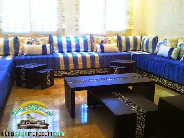 salon marocain blue heaven