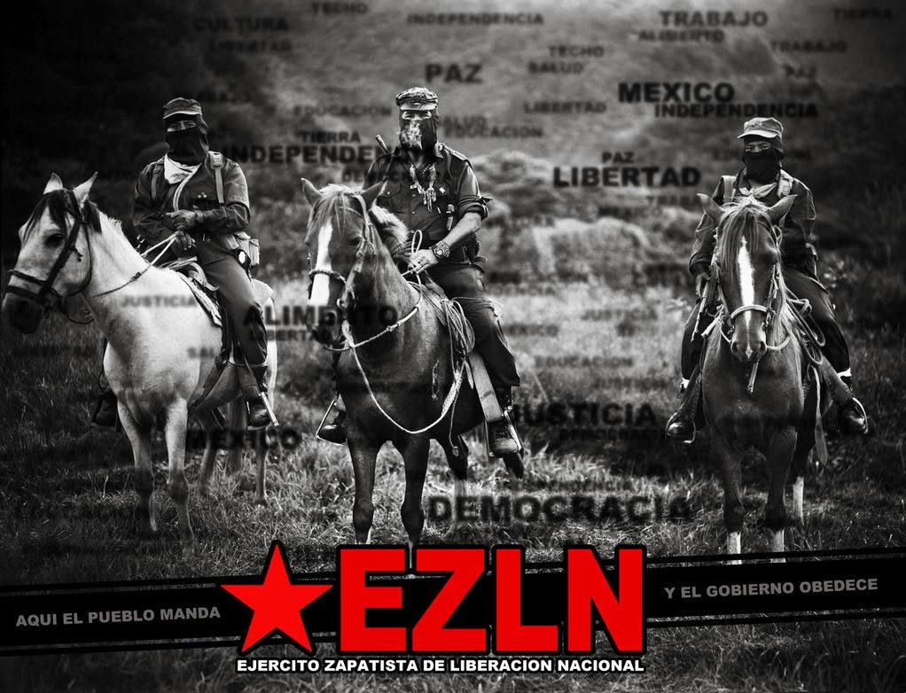 Δρόμοι της Ευρώπης, βουνά του Μεξικού, αντίσταση στη λαίλαπα του καπιταλισμού !