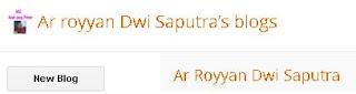 Ar Royyan Dwi Saputra | Anak Sd Belajar Blog.