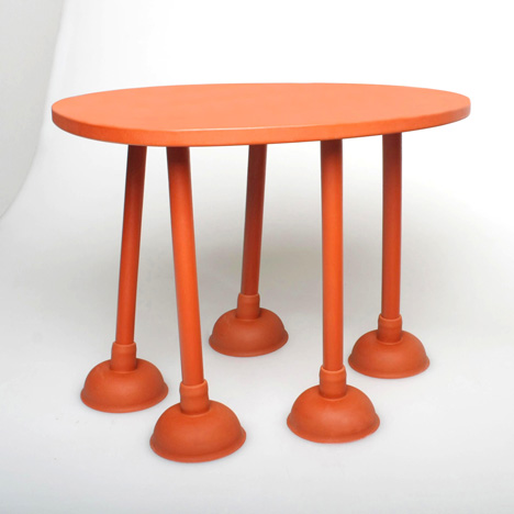 Elastic Rubber Table by thomas schnur Seen On www.coolpicturegallery.us
