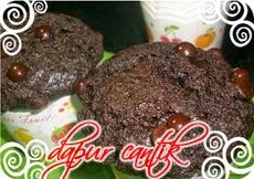 Gambar Masakan Muffin Super Cokelat Dapur Cantik