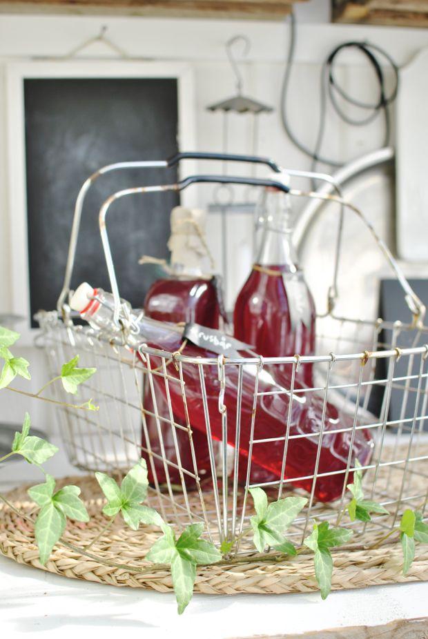 hannashantverk.blogspot.se röd krusbärssaft kundkorg