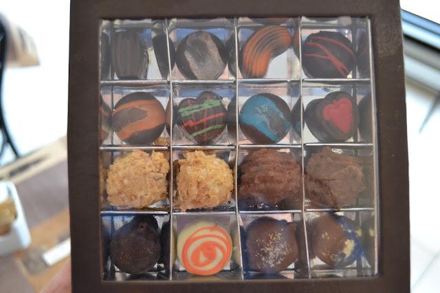 Boite de chocolats Olivier Piffaudat