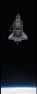 STS-135 Atlantis undocks from the ISS for the last time. Image courtesy of NASA.gov