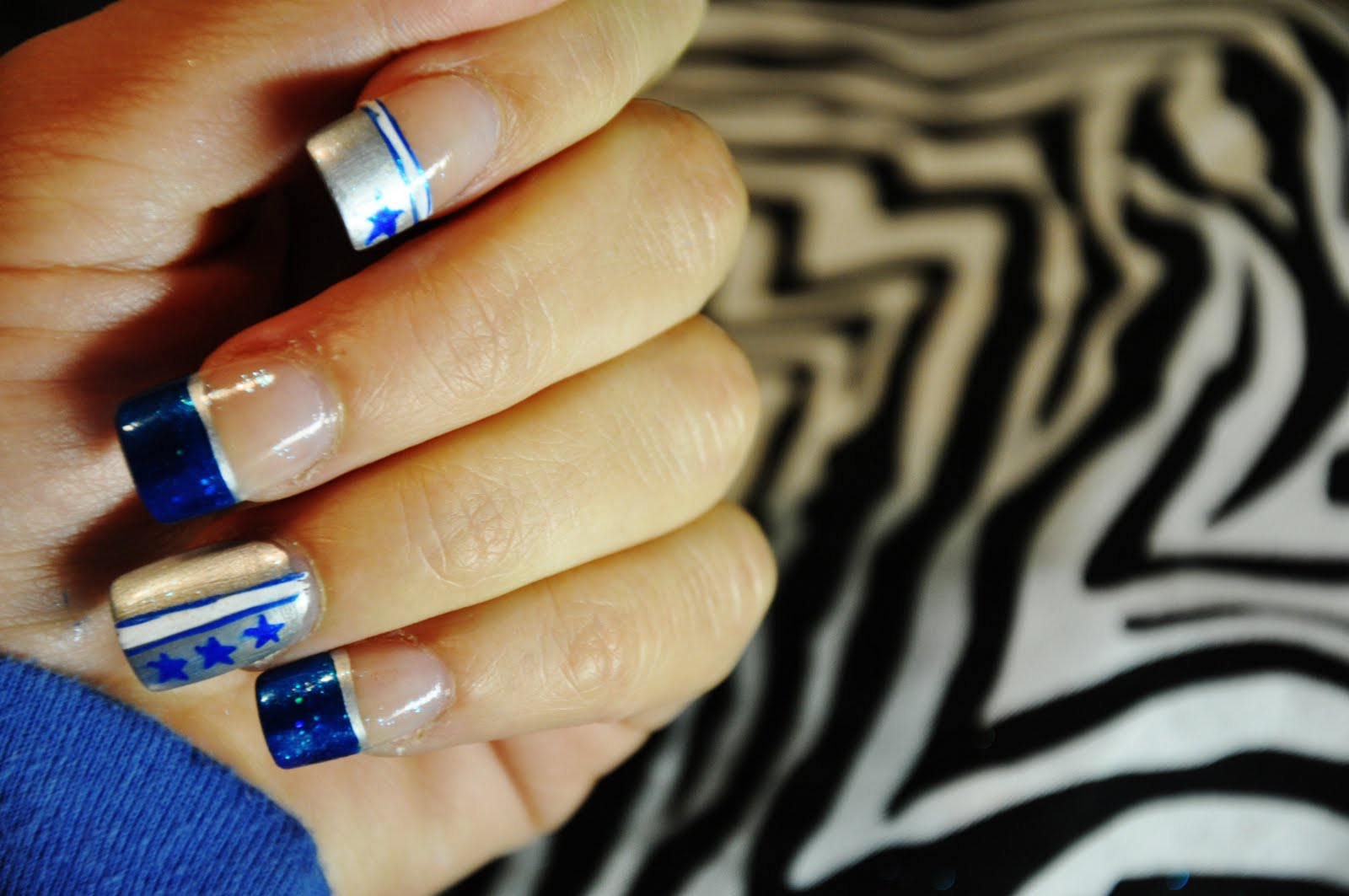 Dallas cowboys nails hair and stuff dallas cowboys nails prinsesfo Image collections