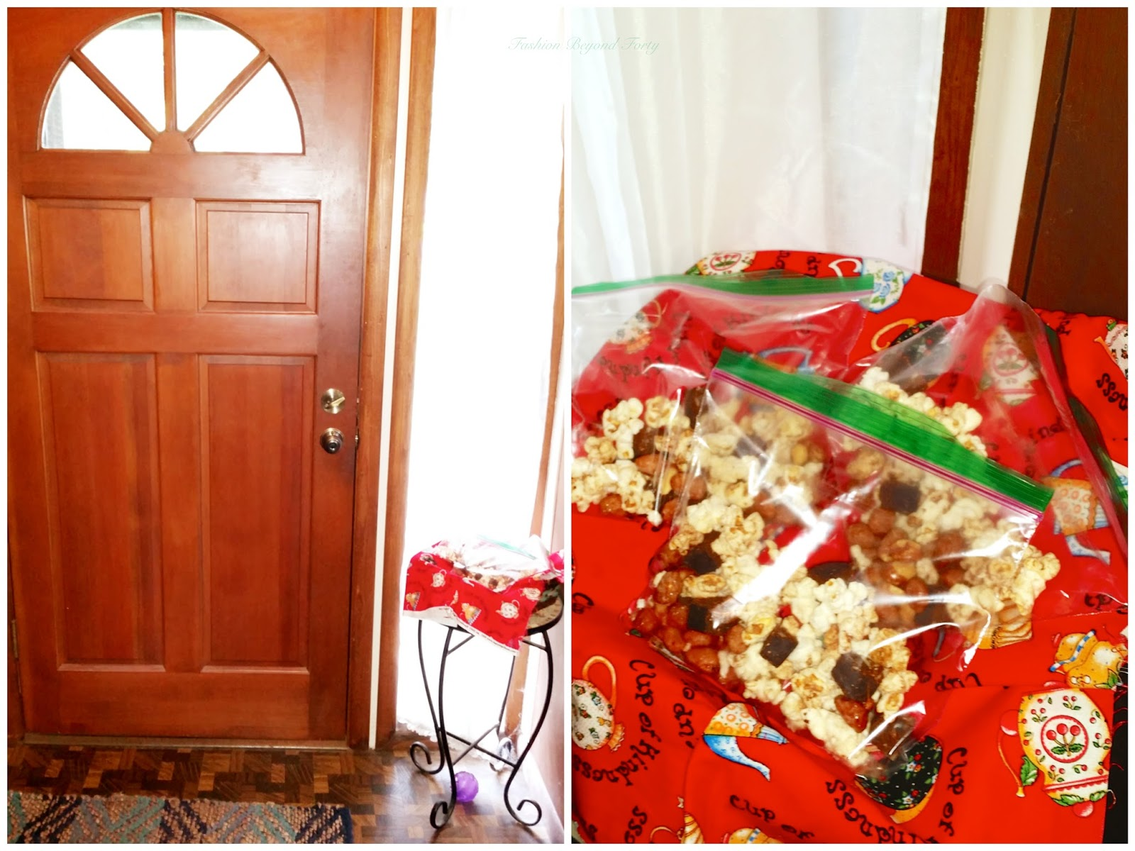 Snacks by the front door