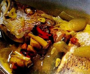 Resep Garang Asem Ikan Kakap