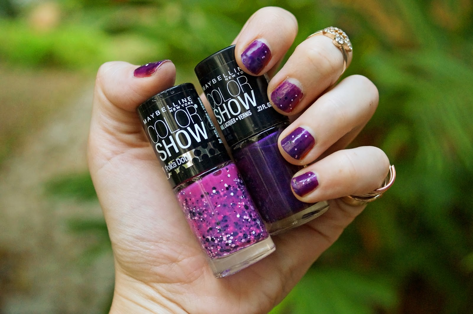 Maybelline's Color Show Nail Polish comes in beautiful colors and dries super fast!