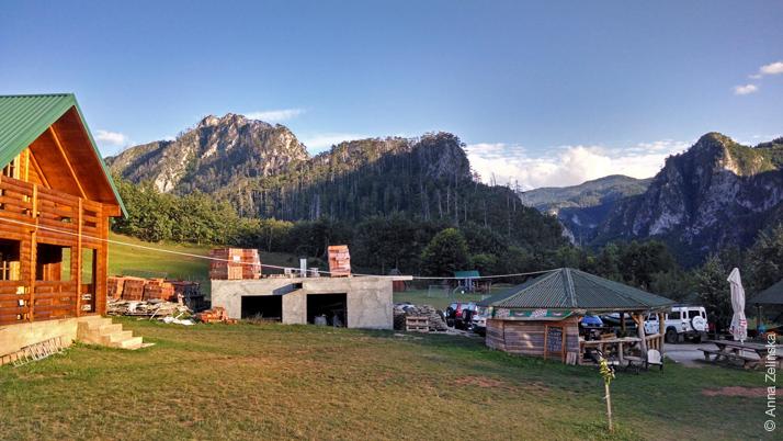 Станция канатного спуска (Zip Line), Черногория