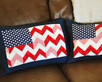 http://www.stubbornlycrafty.com/2013/06/chevron-flag-pillow-cover-tutorial/