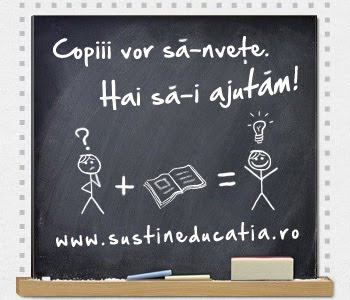 SUSTIN EDUCATIA