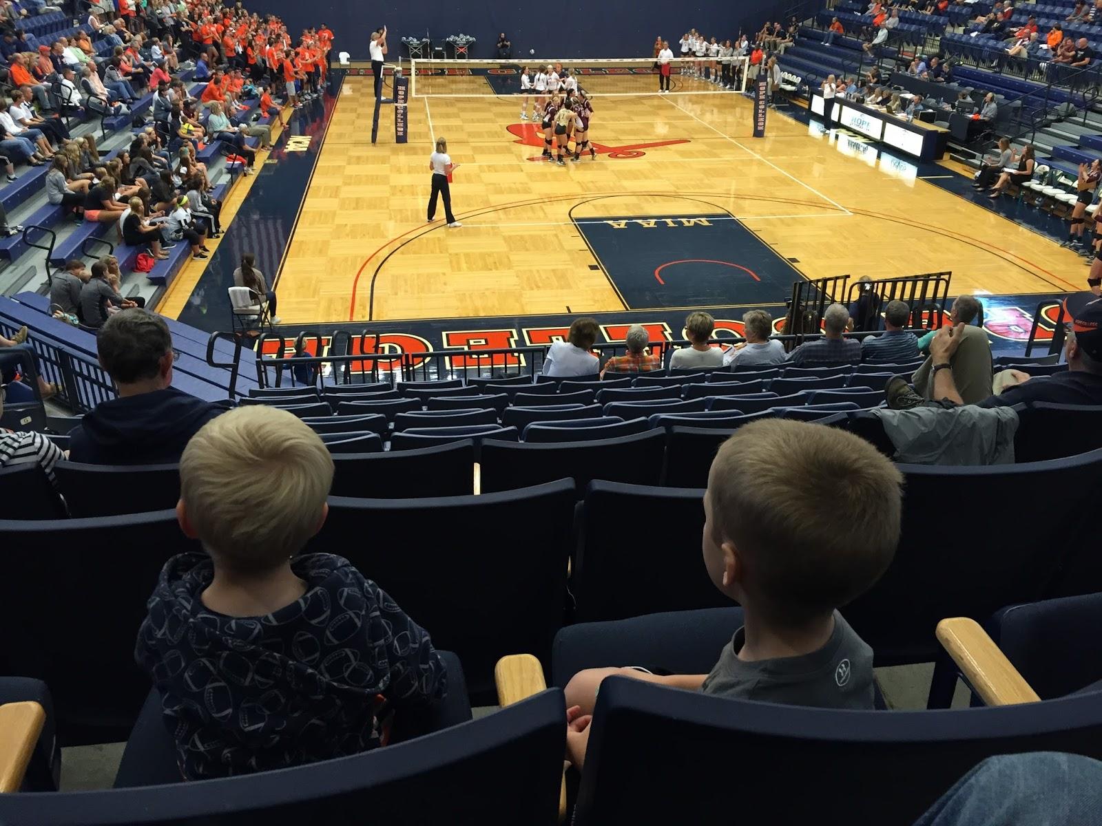 Boysatvolleyball Carlson Family Day