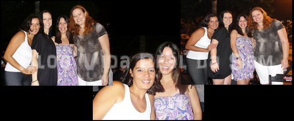 Samanta, Jackie Freitas, Mari Costa e Érica