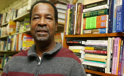 Black-owned book store owner
