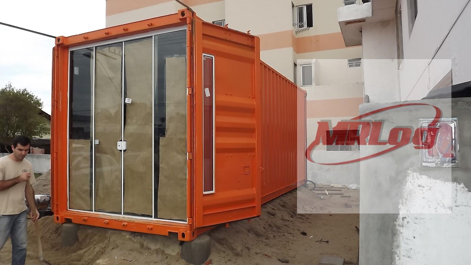 Container MRLOG venda e locação de container #AD441E 1600x900 Banheiro Container Locação Sc