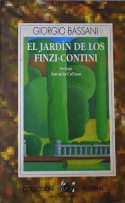 La antigua biblos el jard n de los finzi contini giorgio bassani - El jardin de los finzi contini ...