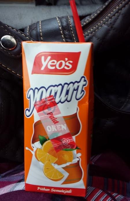Yogurt Yeo's perisa oren
