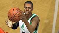 NBA 2K13 Rajon Rondo Cyberface Patch