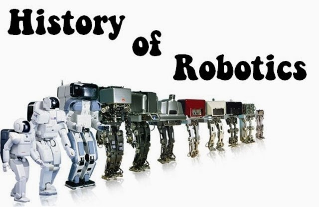 the history of robotics Robots through history (robotics (paperback)) [jeri freedman] on amazoncom  free shipping on qualifying offers at one time, robots were merely the.