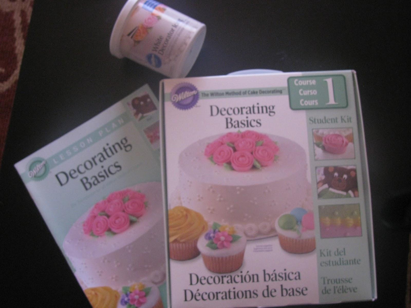 Wilton Basic Cake Decorating Icing Recipe