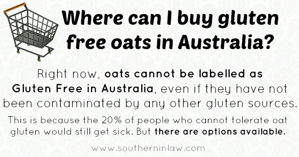 How do they make oats gluten free