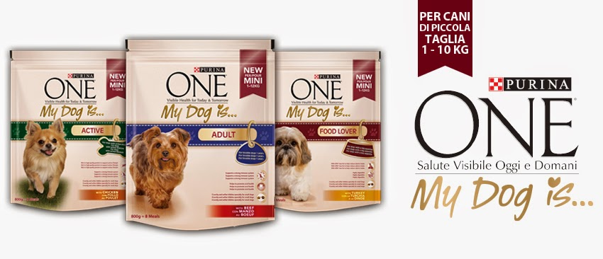 Ambasciatrice di :  PURINA ONE® My Dog Is