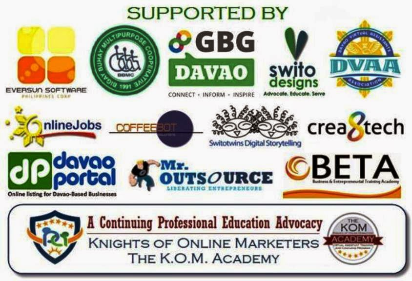 Integrated Comprehensive SEO Training Sponsors & Partner Agencies (Davao Region Philippines)