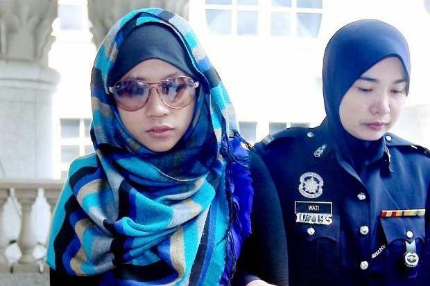 Wanita Lari Dari Tahanan Polis Berjaya Ditahan Semula