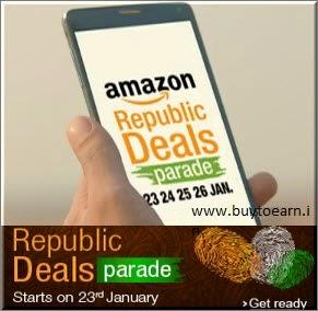(Last day) Amazon Republic Deals Parade Sale 23rd Jan – 26th Jan 2015