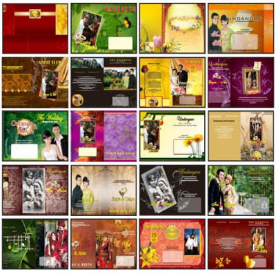 ... dvd utama desain undangan dan 5 dvd pelengkap desain undangan kamu