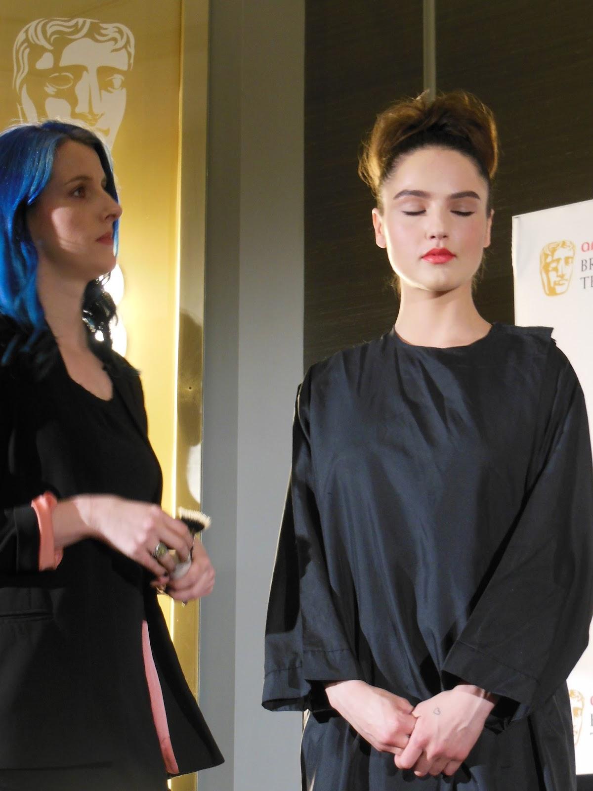 MAC makeup look for the BAFTAs
