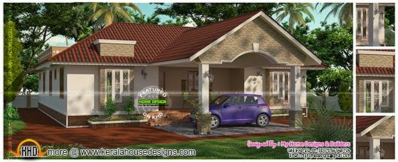 3 Bedroom 2 Attached One Floor House