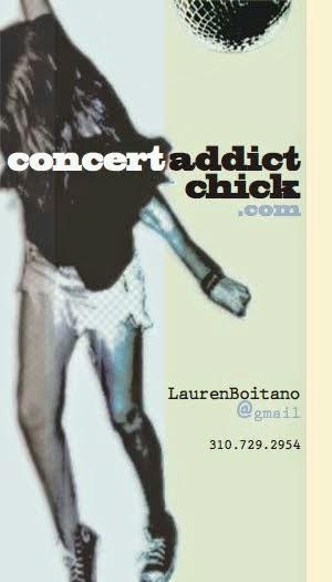 Concert Addict Chick