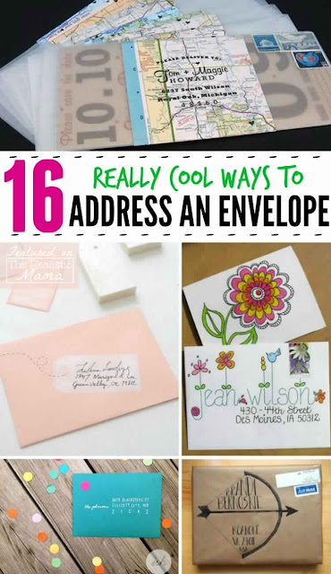 16 Really Cool Ways to Address an Envelope