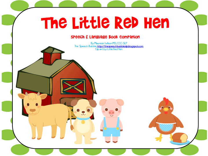 Little Red Hen Coloring Pages