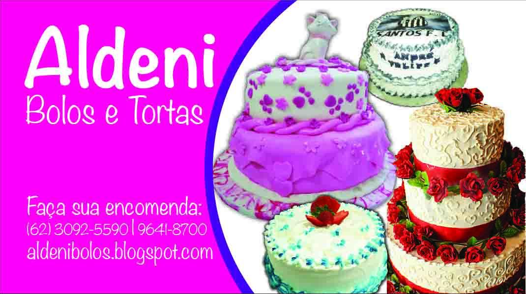 Top Bolos e tortas: Meu Cartão de Visita AJ09