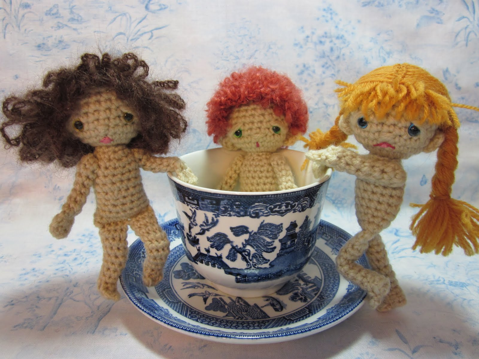 By Hook, By Hand: Teacup Spirits