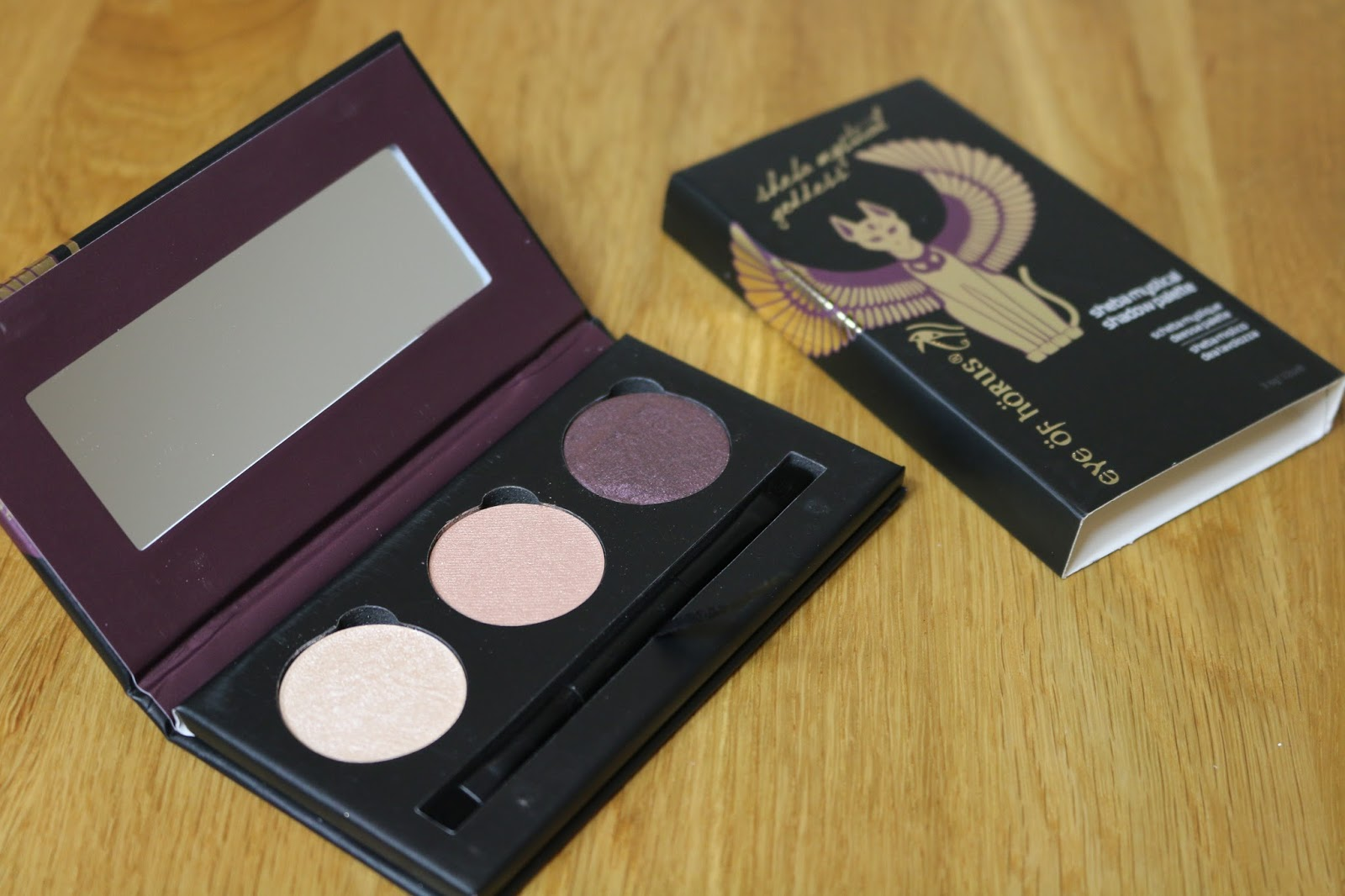 Eye of Horus' new Baked Goddess Shadow Palettes